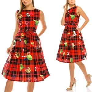 Women's Christmas Cocktail Party Holiday Dress
